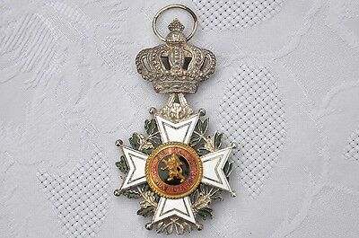 BELGIAN KNIGHT'S CROSS of the ORDER OF LEOPOLD (CIVIL) Post 1951