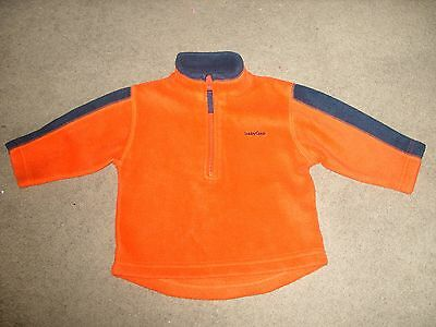 Baby Deep Orange Jumper Top 6/12 month New