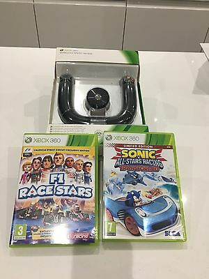 Xbox 360 Wireless Speed Controller With 2 Games