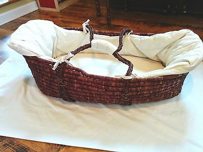 Moses Basket from babystyle - newborn to 3-6 months/mattress+bedding included