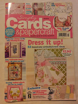 Simply Cards and Papercraft Issue 94 (March 2012)