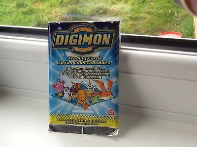 Digimon Trading Cards New Unopened Rare