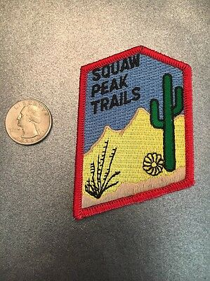 Squaw Peak Trails Provo Utah Embroidered Patch