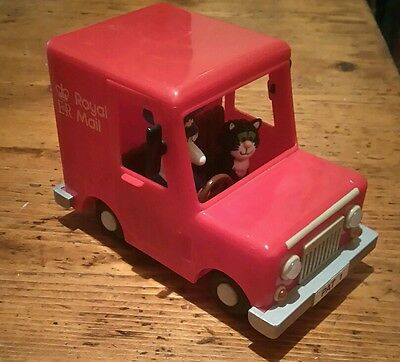 2003 Postman Pat Post Van Toy With Pat And Jess Figures Included.