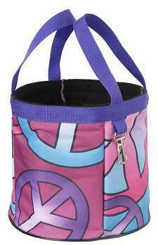 PEACE SIGNS Grooming Caddy Tote Organizer by Tough-1 NEW Horse Pony Gift