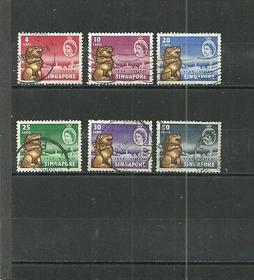 Singapore - 1959 - Obliteres / Used