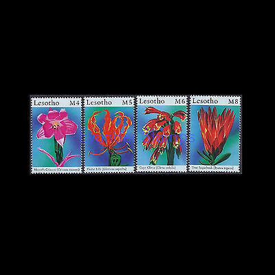 Lesotho 2000 African Flowers. MNH