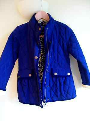 BNWT Next Girls Quilted Navy Jacket Age 9-10years