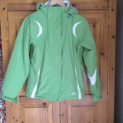 SKI JACKET - Lime Green & White by Trespass 15 to 16 years