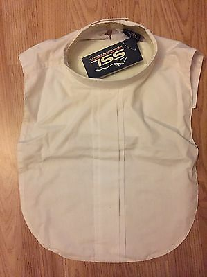 Shires White Bib Large Showing Dressage Jumping Cross Country