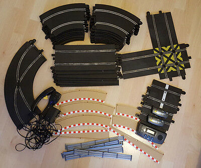 Scalextric Sport Track Straights, Curve, Lap Counter, Curve & Straight Crossover