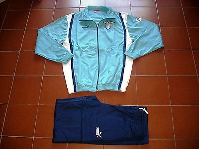 Deadstock Puma Tracksuit Lazio Roma Issue 2000 Youth Academy Siemens Parmacotto