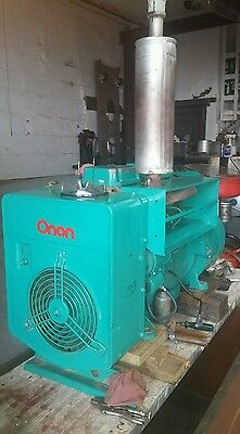 """Onan15kw Stand by Generator, 1-3 phase. Gas, LP, Nat """"85 hrs."""""""