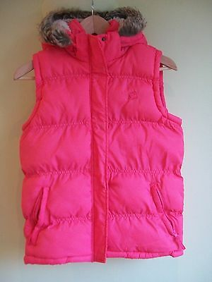 Girls Mountain Essentials Pink Gillet age 11-12years