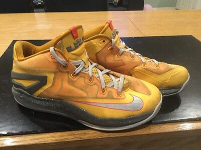 Nike Lebron 11 Low Floridians Basketball Shoes Size Uk8 Eur42.5