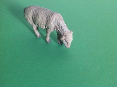 Vintage Possible German Lineol / Elastolin Toy Farm Animal Lamb