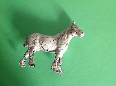Vintage Possible German Lineol / Elastolin Toy Farm Animal Horse