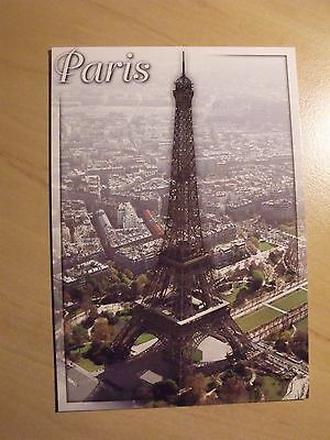 Unposted postcard showing The Eiffel Tower