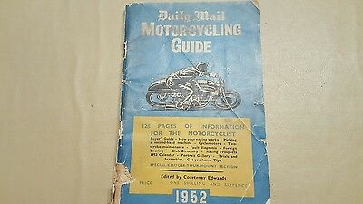 Daily mail motorcycling guide 1952