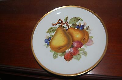 Mitterteich Plate 52 - Pears and Other Fruit - Made in Germany - Fall
