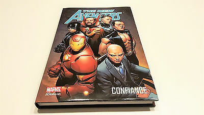 The New Avengers vol 4 Confiance (Marvel Deluxe) / Collectif // Panini