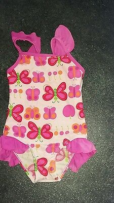 Girls Swimsuit By Bubbles Age 18/23 Months