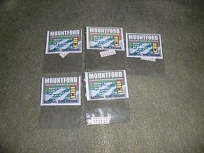 1:1250 Mountford 5Xjapanese Wing Insignia Decals