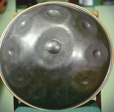 "HANDPAN STEEL PAN Drum  ""Formart SOUND"" Minor Scale 10 Notes 2 st Generation NEW"