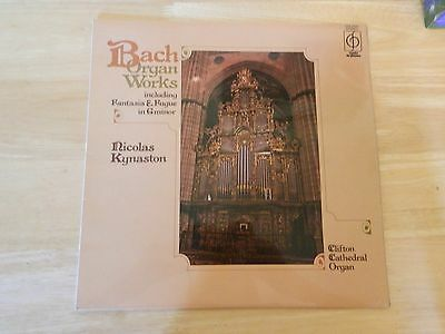 Organ Works Johann Sebastian Bach UK vinyl LP album record CFP40241