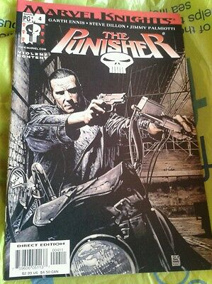 """Marvel Knights """" The Punisher """" #4 Comic"""