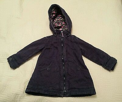 Girls purple Ted Baker coat