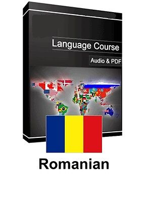 Learn to Speak Romanian - Teach Yourself Language Course on PC CD/DVD