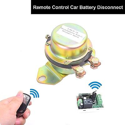 Car Auto Remote Control Battery Switch Disconnect Anti-theft DC 12V Latching ...