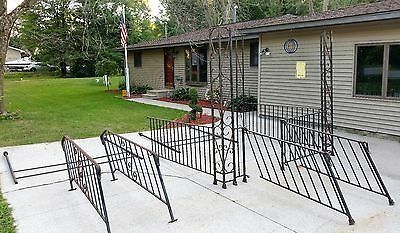 Wrought Iron Railing Porch Garden Steps Stairs Hand Rails Architectural Salvage