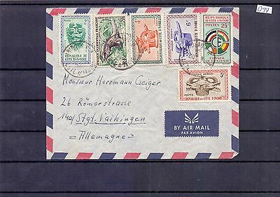 D98 - French Colonies Cover