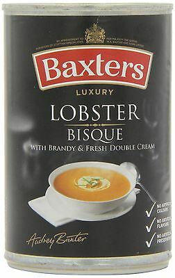 Baxters Luxury Lobster Bisque Soup 400 g (Pack of 12)