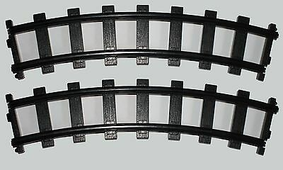 Lionel G Gauge Train Track 4 Curved Sections For Polar Express Or Other Set