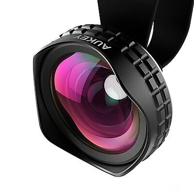 AUKEY Wide Angle Lens 0.63X HD Clip On with All Alloy + Glass for iPhone 6 / ...
