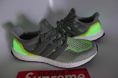 ADIDAS ULTRA BOOST GLOW IN THE DARK LE 9.5 Asia Market BB4145 100%  Authentic NEW 6ff6e6598b