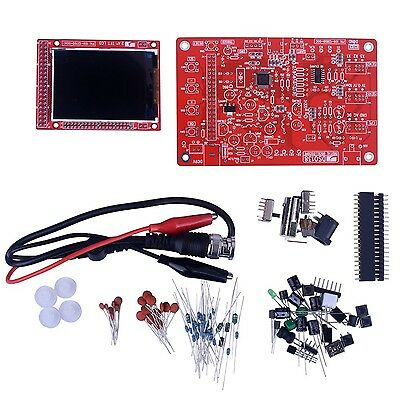 """JYETech DSO138 DIY Digital Oscilloscope Kit with 2.4"""" TFT LCD and Probe"""