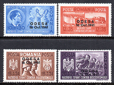 WWII AXIS ROMANIA 1941 Fall of Odesssa Fine MINT Set SG.1517/20