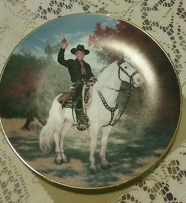 Vintage Hopalong Cassidy TV Western Collectors Plate
