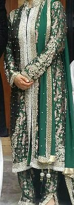 Heavily embroidered Salwar Kameez/Jacket Suit Bollywood Fashion