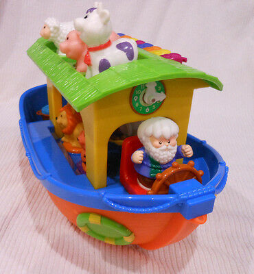 Noahs Ark Musical Toy With Animals