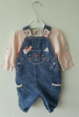 Baby girls 2-piece clothes 0-3mths
