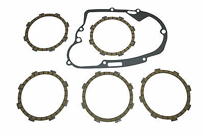 Yamaha RXS100 clutch plates, friction plates & cover gasket (1983-1997)