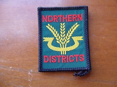 Northern Districts Australia Embroidered Scout Cloth Badge