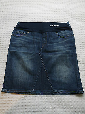 Gap Maternity denim skirt size 8