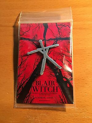 Blair Witch 2016 Pin - New & Sealed - Exclusive Movie Memorabilia