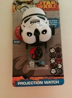 Star Wars Stormtrooper Projection Watch LCD 10 Images